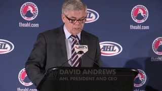 AHL, Anaheim Ducks Announce New San Diego Affiliate