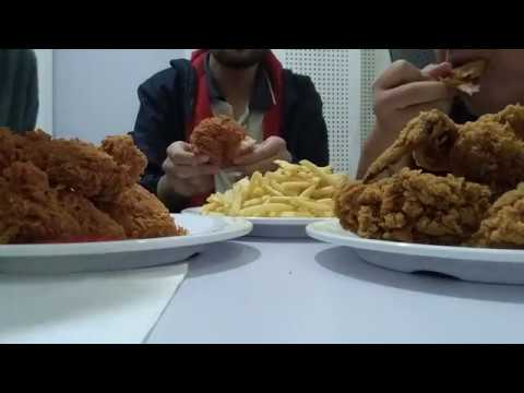 Mcdonald Fried Chicken And French Fries Mukbang First Try Non Asmr