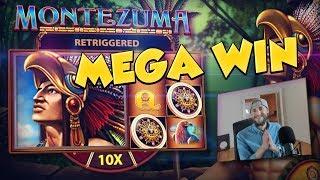 BIG WIN!!! Montezuma Huge Win - Casino Games - free spins (Online Casino)