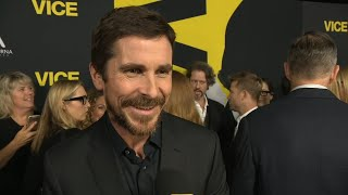 Vice Cast Talks Christian Bale's Major Transformation Into Dick Cheney (Exclusive)