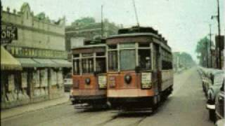 Chicago Street Cars & Elevated Trains in the 1940s