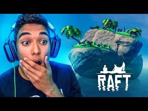 ENCONTREI UMA ILHA !! - Raft [#03]