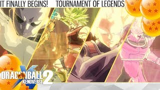 (2K) Dragon Ball Xenoverse 2 - The Tournament of Legends Begins! (Tournament of Legends)