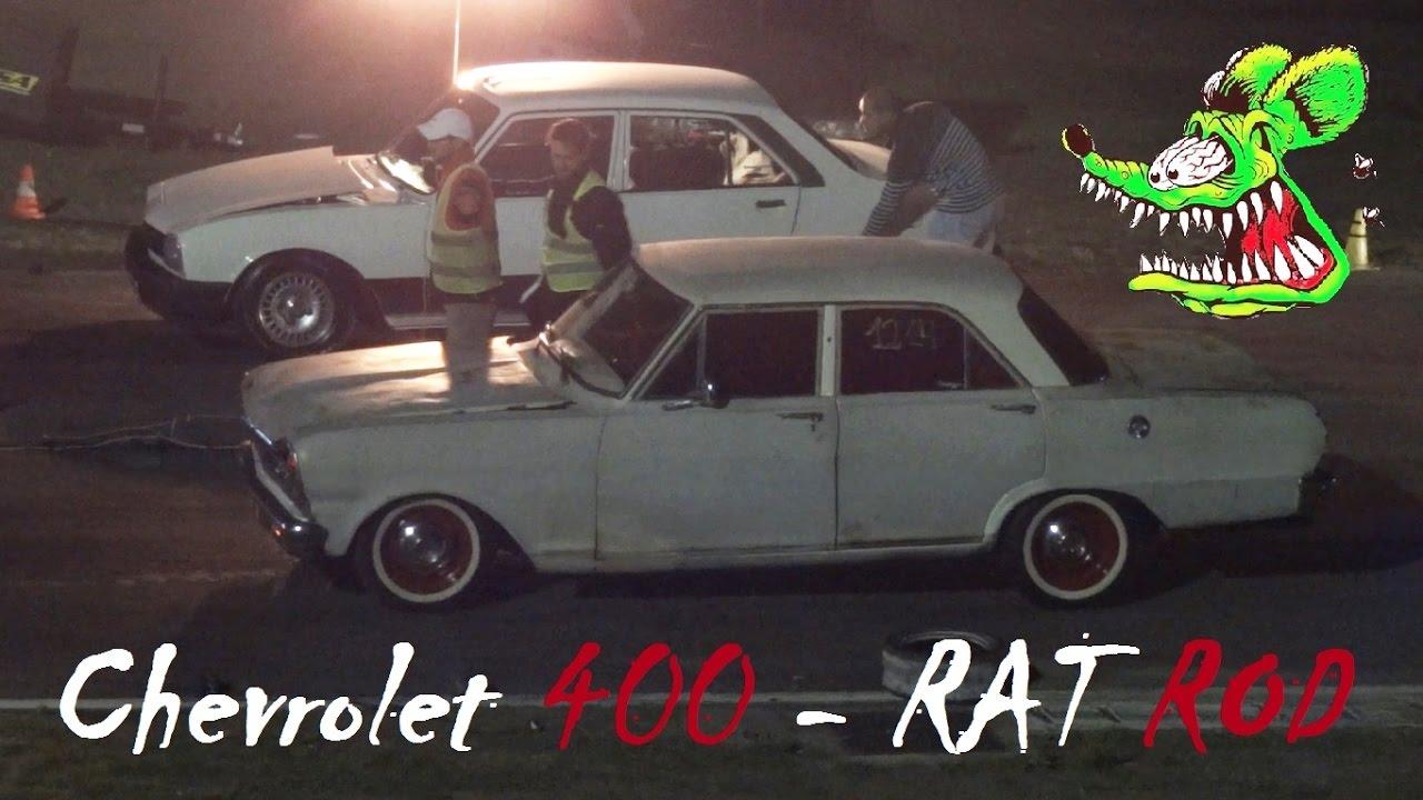 Chevrolet 400 Rat Rod Vs Peugeot 504 400 Enfierrado Youtube