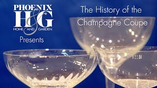 The History of the Champagne Coupe