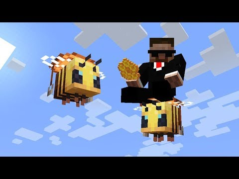 КАК ОСЕДЛАТЬ ПЧЕЛУ? 1.15 Minecraft