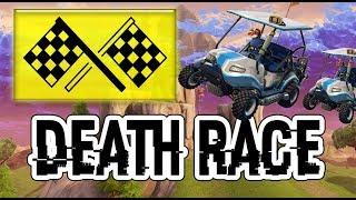 ¡DEATH RACE! - Mapa de Carreras en Modo Creativo - Fortnite Battle Royale