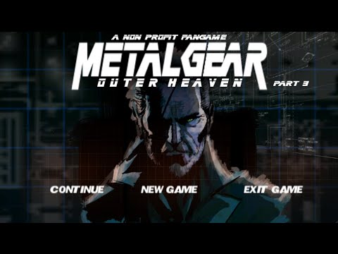 Metal Gear: Outer Heaven (Remake) Playthrough [Part 3/3]