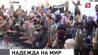 Сирийцы благодарят Россию за помощь в борьбе с ИГИЛ! Новости Сирии Сегодня 07.11.2015