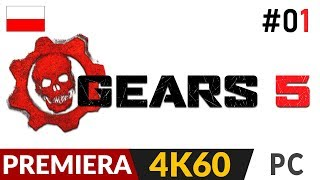 Gears 5 PL ⚙️ odc.1 (#1) Kampania  Co za grafika! | Gameplay po polsku 4K Ultra