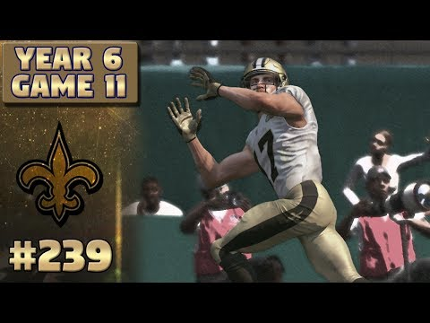 #1 Offense? | @ Dolphins Highlights (S6,G11) | Madden NFL 17 New Orleans Saints Franchise Ep. 239