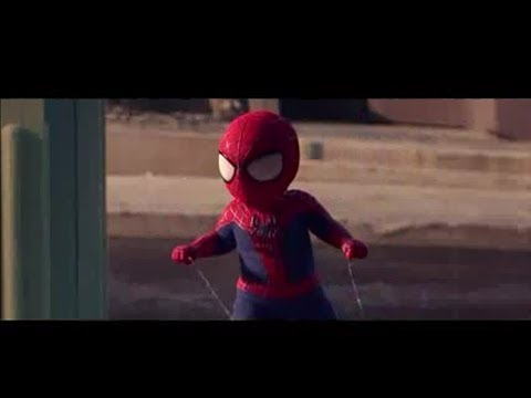 Bayi Spiderman Joget Video Iklan Lucu Terbaru Minuman Evian