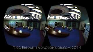 Star Trek TNG Bridge and ReadyRoom in VR