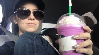 Girl cries over Starbucks UNICORN FRAPPUCCINO