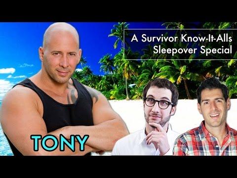 Tony Vlachos Interview: A Survivor Know-It-Alls Sleepover Special