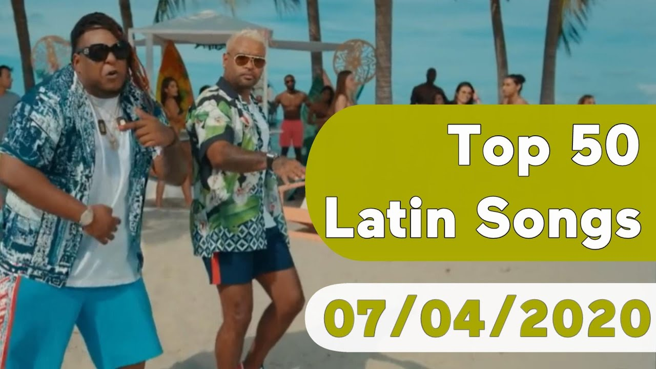 US Top 50 Latin Songs (July 4, 2020)