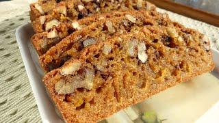 Receta: Bizcocho De Calabaza / Recipe: Pumpkin Cake Gluten Free, Dairy Free