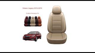Oasis Auto  Subaru Legacy (2015-2019) seat cover installation-Custom Fit