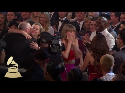 Taylor Swift Reaction | Audience Cam | 58th GRAMMYs