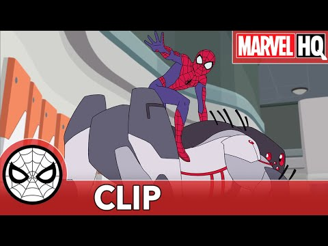 """SNEAK PEEK: Spidey Rides a Robot in Marvel's Spider-Man: Maximum Venom - """"Web of Venom Pt. 1"""""""