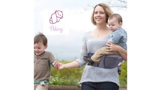 Totcarrier- Back Pain Relief, Comfortable for Newborns, Toddler, and Children.