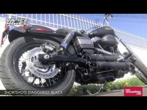 Thumbnail for Vance & Hines Shortshots Staggered Exhaust