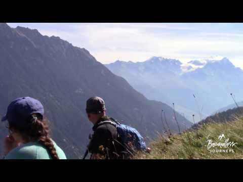 Boundless Journeys' Tour du Mont Blanc Hiking