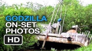 Godzilla On-Set Photos - Part II (2014) Aaron Taylor-Johnson Movie HD