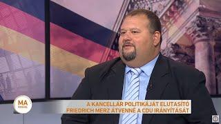 A kancellár politikáját elutasító Friedrich Merz átvenné a CDU irányítását