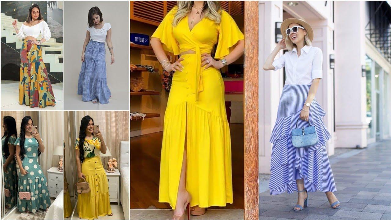 5 Tips para Usar Faldas largas Como una Profesional/Formas Increíbles de Combinar tus FALDAS Parte 1