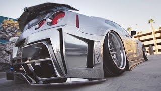 Kuhl Racing's - Chrome GTR on Savini Concave Step Lips