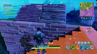 Victory in squad -FORTNITE- showing the bug (get under the map) part 2