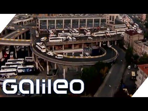 Der größte Busbahnhof Europas | Galileo | ProSieben