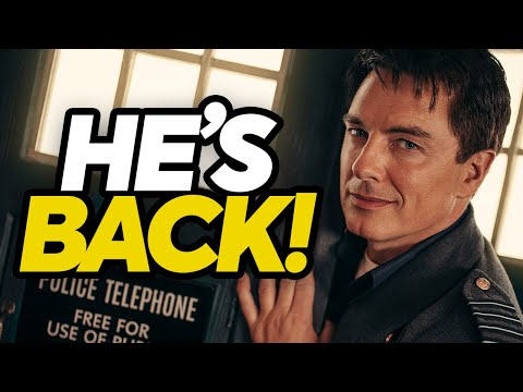 Captain Jack RETURNS For Doctor Who: Revolution Of The Daleks!