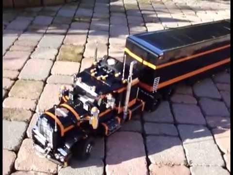 lego truck harley davidson sephirot8082 youtube. Black Bedroom Furniture Sets. Home Design Ideas