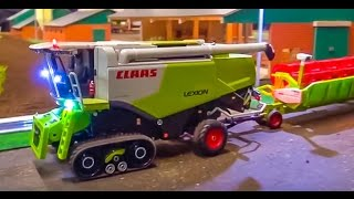 RC tractors & more with tracks! Challenger, Lexion, Quadtrac in ACTION!