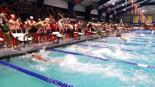 Men's 200y Free Relay Heat 1 | 2019 NCSA Spring Swimming Champs