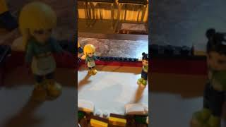 Lego friends ice-skating said my first video