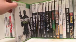My Xbox 360 video game collection 2017!!!