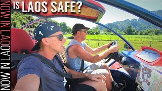 How to Travel Vang Vieng Laos | Where to go for Cheap Buggy Hire for exploring Vang Vieng Laos