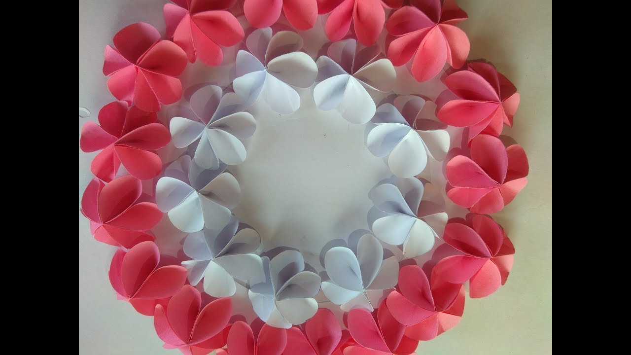 How To Make A Paper Flower Easy Origami Flower Instructions Step By