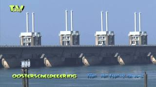 Dutch Delta works: Eastern Scheldt storm surge barrier - Oosterscheldekering