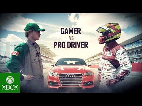 Forza 6 Presents: The 'Gamer vs. Driver' Forza Fuel Challenge
