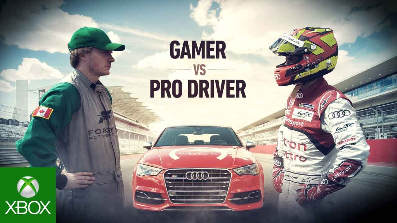 Forza 6 Presents: The 'Gamer vs. Driver' Forza Fuel Challenge