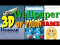 Easy Way to Make your 3D Name Wallpaper 2019 On your Android Smartphone ||Make your own 3D Wallpaper