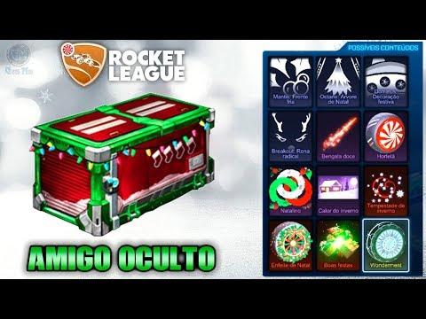 O QUE TEM NA NOVA CAIXA DE NATAL AMIGO OCULTO - Rocket League