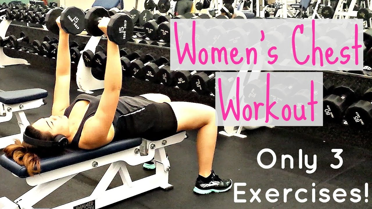 Womens Dumbbell Chest Workout Should Girls Work Out -2588