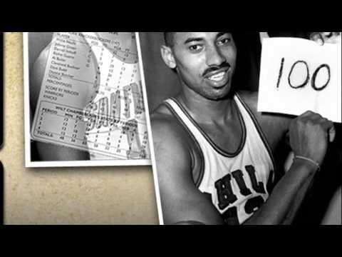 wilt chamberlain 100 point game highlights - YouTube