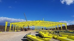 Industrial steel building & warehouse construction