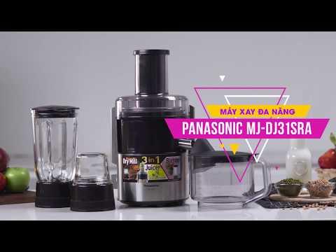 Máy Xay đa Năng Panasonic: đẹp, Bền, Tiện Dụng (MJ-DJ31SRA) • Điện Máy XANH